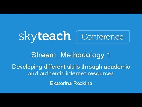 Developing skills through academic and authentic Internet resources